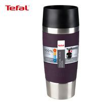TEFAL แก้วเก็บอุณหภูมิ TRAVEL MUG ขนาด 0.36 ลิตร รุ่น K3085124 (Berry)