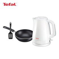 Tefal Wonderful Breakfast Set (Tefal กาต้มน้ำไฟฟ้า รุ่น KO1501 (1.5 L) + Tefal กระทะก้นลึก 16 ซม. รุ่น Super Cook B1438314)