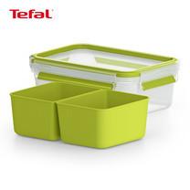 TEFAL กล่องถนอมอาหาร MasterSeal TO GO ความจุ 0.55 ลิตร - สีเขียว (K3100622)