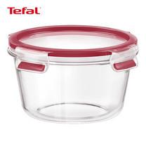 TEFAL กล่องถนอมอาหาร MasterSeal GLASS ความจุ 0.9 ลิตร - สีแดง (K3010922)