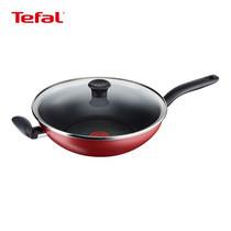Tefal กระทะก้นลึก พร้อมฝาแก้ว 30 cm. Pure Chef Wok Pan รุ่น C6179414