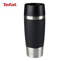 TEFAL แก้วเก็บอุณหภูมิ TRAVEL MUG ขนาด 0.36 ลิตร รุ่น K3087124 (Black)