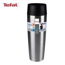 TEFAL แก้วเก็บอุณหภูมิ ขนาด 0.36 ลิตร รุ่น TRAVEL MUG K3080124 (Silver)