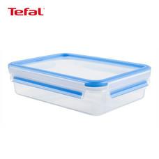 TEFAL กล่องถนอมอาหาร MasterSeal FRESH ความจุ 1.2 ลิตร - สีฟ้า