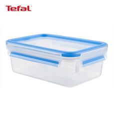 TEFAL กล่องถนอมอาหาร MasterSeal FRESH ความจุ 0.55 ลิตร - สีฟ้า