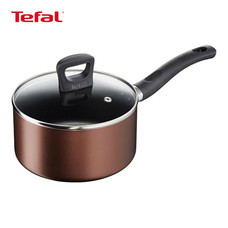 Tefal หม้อด้ามพร้อมฝาแก้ว 18 ซม. รุ่น Super Cook Plus G1032314