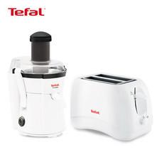 Tefal Wonderful Refreshment Set (Tefal เครื่องสกัดน้ำผลไม้ 400 วัตต์ รุ่น ZE350 + Tefal เครื่องปิ้งขนมปัง 850 วัตต์ รุ่น TT1321)