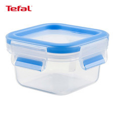 TEFAL กล่องถนอมอาหาร MasterSeal FRESH ความจุ 0.25 ลิตร - สีฟ้า