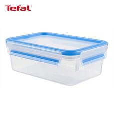 TEFAL กล่องถนอมอาหาร MasterSeal FRESH ความจุ 0.8 ลิตร - สีฟ้า
