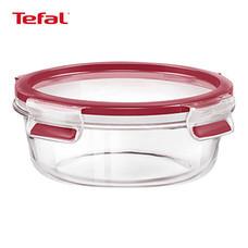 TEFAL กล่องถนอมอาหาร MasterSeal GLASS ความจุ 0.6 ลิตร - สีแดง