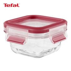 TEFAL กล่องถนอมอาหาร MasterSeal GLASS ความจุ 0.2 ลิตร - สีแดง