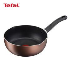 Tefal กระทะก้นลึก ขอบ 2 หยัก 24 ซม. รุ่น Super Cook Plus G1036414