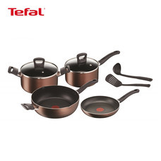 Tefal ชุดเครื่องครัว 8 ชิ้น รุ่น Super Cook Plus G103S814
