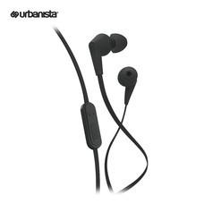 Urbanista หูฟังแบบสอดหู รุ่น Barcelona in-ear - Dark Clown Black