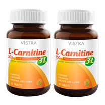 VISTRA L Carnitine 500 plus 3L (30 Caps) Pack 2 Bot