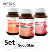 VISTRA Good Skin Set (Astaxanthin30+Tomato30+Ace45)