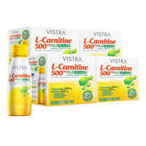 VISTRA L-CARNITINE 500 MG SHOT DRINK 50 ML ( 6 ขวด/กล่อง) PACK 4 Box