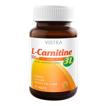 VISTRA L-CARNITINE 500 PLUS 3L (BOT-30 TABS)