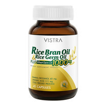 VISTRA RICE BRAN OIL PLUS WHEAT GERM OIL 1000 MG (BOT-40 CAPS)