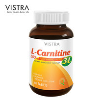 VISTRA L-CARNITINE 500 PLUS 3L (BOT-60 TABS)