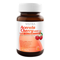 VISTRA ACEROLA CHERRY 1000MG (BOT-45TABS)