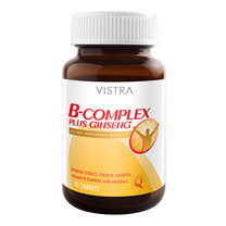 VISTRA B-COMPLEX PLUS GINSENG (BOT-30 TABS)
