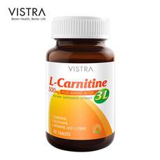 VISTRA L-CARNITINE 500 PLUS 3L (BOT-30 TABS)