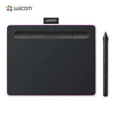 Wacom Intuos S Bluetooth แท็บเล็ตสำหรับวาดภาพกราฟิก รุ่น CTL-4100WL-P0-CX สีชมพู