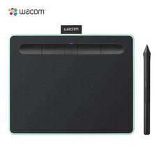Wacom Intuos S Bluetooth แท็บเล็ตสำหรับวาดภาพกราฟิก รุ่น CTL-4100WL-E0-CX สีเขียว