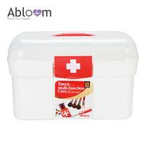 Abloom กล่องยา ปฐมพยาบาล อุปกรณ์ทางการแพทย์ กล่องใส่ของ First Aid Kit Box , Medium Box