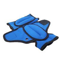 Abloom Weight Gloves ถุงมือทราย เพิ่มน้ำหนัก ออกกำลังกาย ( สีน้ำเงิน 250 g)