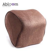Abloom หมอนรองคอ Memory Foam Car Neck Pillow - สีน้ำตาล