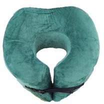 Abloom หมอนรองคอ เมมโมรี่โฟม แบบหนาพิเศษ รองรับสรีระคอได้ลงตัว พร้อมเข็มขัดรัด Ergonomic Memory Foam Neck Pillow ( สีเขียว)