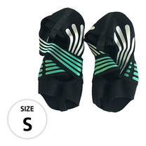 ถุงเท้าโยคะ พิลาทิส Half Toe Pilates Shoes Yoga Socks Size S