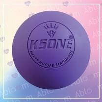 ลูกบอลนวด คลายกล้ามเนื้อ Lacrosse Rubber Massage Ball (สีม่วง)