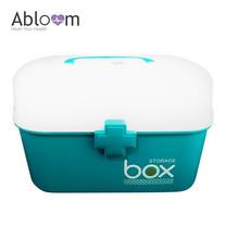 Abloom กล่องยา First Aid Kit Box Medicine Storage - สีฟ้า