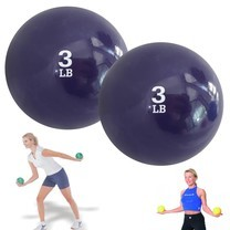 Soft Weight Ball, Toning Sand Ball ลูกบอลทราย น้ำหนัก 3 ปอนด์ 1 คู่