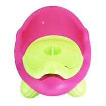 กระโถน โถนั่งเด็ก Baby Toilet Training Seat ( สีชมพู )
