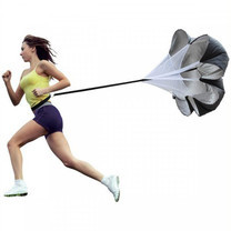 Abloom ร่มชูชีพ ฝึกวิ่ง เพิ่มความเร็ว Speed Training Resistance Parachute Running Chute