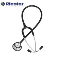 หูฟังแพทย์ ประเทศเยอรมัน หูฟังทางการแพทย์ Riester Duplex 2.0 Stethoscope, Stainless Steel (R4210) - สีดำ