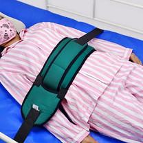 Abloom สายรัดตัวผู้ป่วย กับเตียง สายรัดเตียง รุ่น 2 ชั้น Double Strap Medical Bed Strap for Patient (สีเขียว)