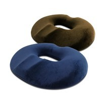 Abloom หมอนโดนัท เมมโมรี่โฟม ออกแบบตามหลักสรีระการนั่ง Ergonomic Donut Pillow, Seat Cushion - มีสีให้เลือก