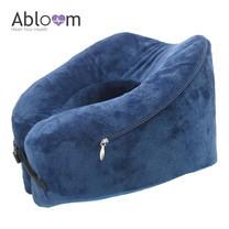Abloom หมอนรองคอ เมมโมรี่โฟม แบบหนาพิเศษ รองรับสรีระคอได้ลงตัว พร้อมเข็มขัดรัด Ergonomic Memory Foam Neck Pillow