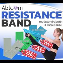 ยางยืดออกกำลังกาย Flexband, Resistance Yoga Band (มีขนาดให้เลือก)