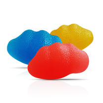 Abloom ลูกบอลเจล บริหารมือทรงหอย - สีเหลือง Gel Ball Hand Exerciser Shell Shape - Yellow
