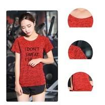 ลด 90%เสื้อยืดออกกำลังกาย ย้อมสี (พิมพ์ลาย) Sports T-Shirt