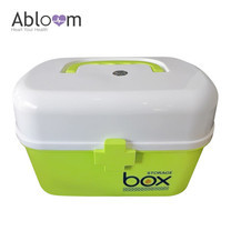 Abloom กล่องยา ปฐมพยาบาล กล่องอเนกประสงค์ First Aid Kit Box Medicine Storage (สีเขียว )