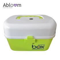 Abloom กล่องยา First Aid Kit Box Medicine Storage - สีเขียว