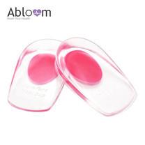 Abloom ซิลิโคนป้องกันส้นเท้าแตก 1 คู่ Size S/M - สีชมพู