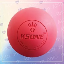 ลูกบอลนวด คลายกล้ามเนื้อ Lacrosse Rubber Massage Ball (สีแดง)